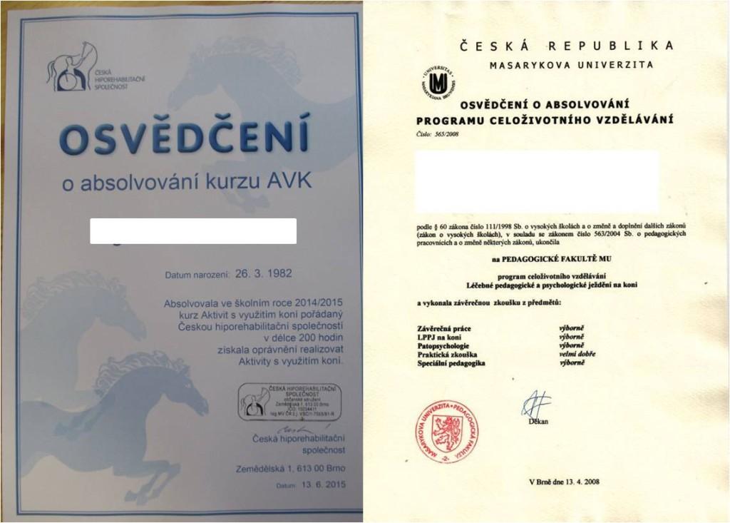 Hiporehabilitace_kurz_AVK_certifikaty
